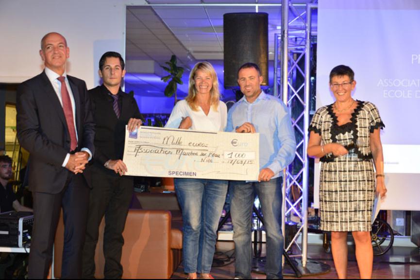 photo Les Prix Initiatives Région de la Banque Populaire Côte d'Azur récompensent deux associations sportives solidaires