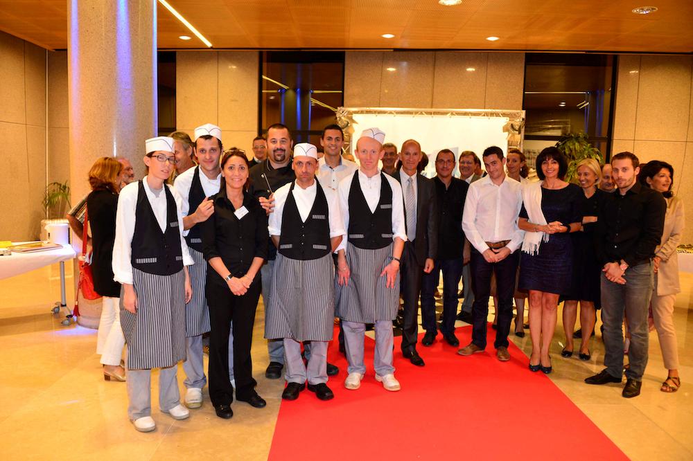 photo ESATITUDE célèbre ses 60 ans au siège de la Banque Populaire Côte d'Azur