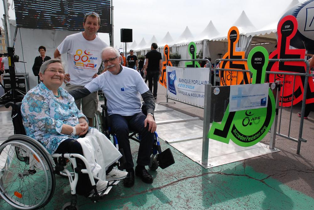 photo La Banque Populaire Côte d'Azur, l'Association des Paralysés de France et le Rotary s'engagent pour l'accessibilité