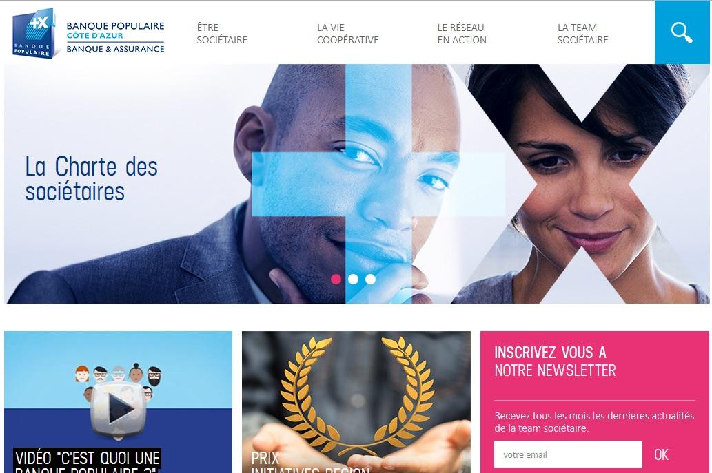 photo Banque Populaire Côte d'Azur : ouverture du site internet dédié au sociétariat