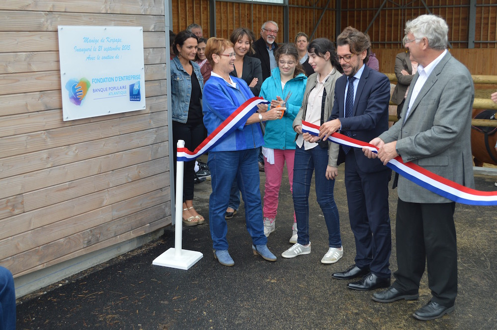 photo La Fondation d'Entreprise Banque Populaire Atlantique et l'équithérapie