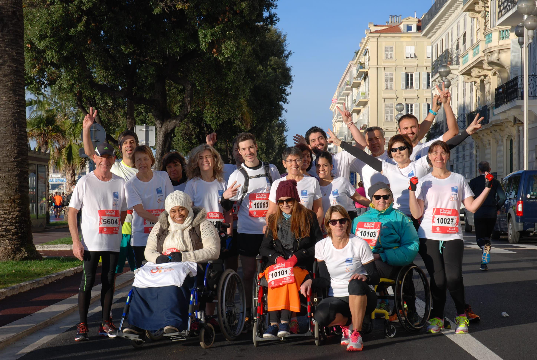 photo La Banque Populaire Côte d'Azur mobilisée pour l'Association des Paralysés de France des Alpes-Maritimes