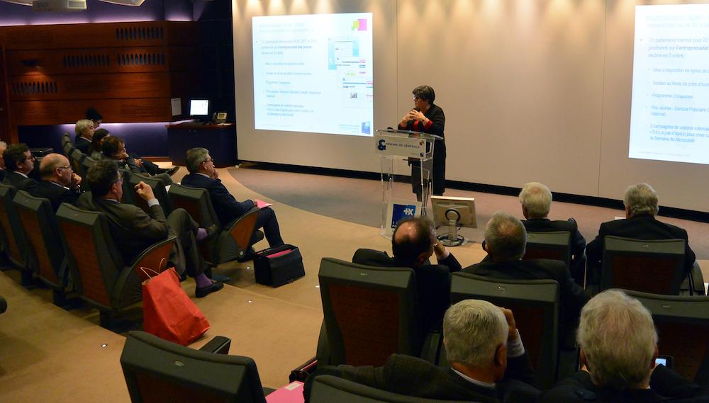 photo Signature d'une convention de partenariat triennale entre la FNBP et l'Adie