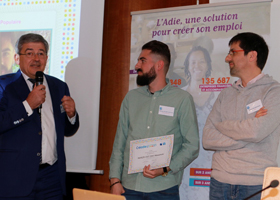 photo Adie : remise du Prix Jeunes Banque Populaire