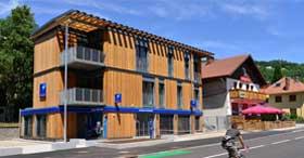 photo BPALC inaugure une agence construction bois et passive