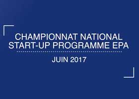 photo EPA : championnat annuel des Start-Up 2017