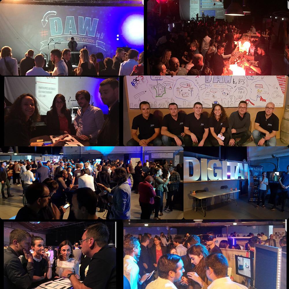 photo 1ere édition du DAW, Digital After Work : Pari réussi !