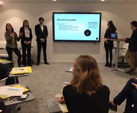 photo La Banque Populaire du Nord élargit ses réflexions avec les étudiants de l'IÉSEG