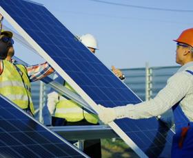 photo Énergie solaire solidaire