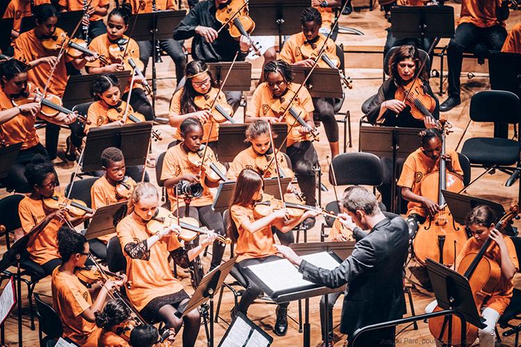 photo La Fondation Banque Populaire partenaire du projet DÉMOS de la Philharmonie de Paris